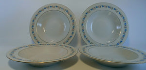 HAVILAND china PEMBERTON New York 8-piece LOT 4 soup bowls 2 bread 2 salad plate