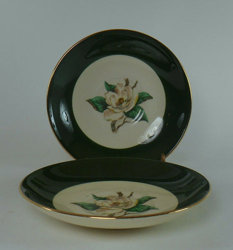 LIFETIME china JADEROSE pattern Set of Two (2) Saucers