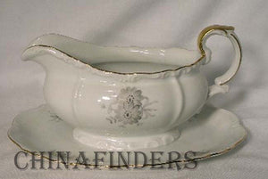 EDELSTEIN china ANDOUCA 18815 pattern GRAVY BOAT Only