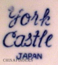 JAPAN (HIRA) china The YORK CASTLE pattern SAUCER Only