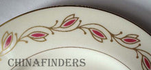 PICKARD china SYMPHONY-RED 1077 pattern Round Vegetable Serving Bowl @ 9-1/4""