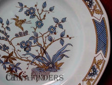 ADAMS china MING TOI - BLUE pattern Salad Plate 8-1/4""