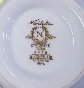 NORITAKE china POMPEII 6678 pttn Round covered Vegetable bowl with lid
