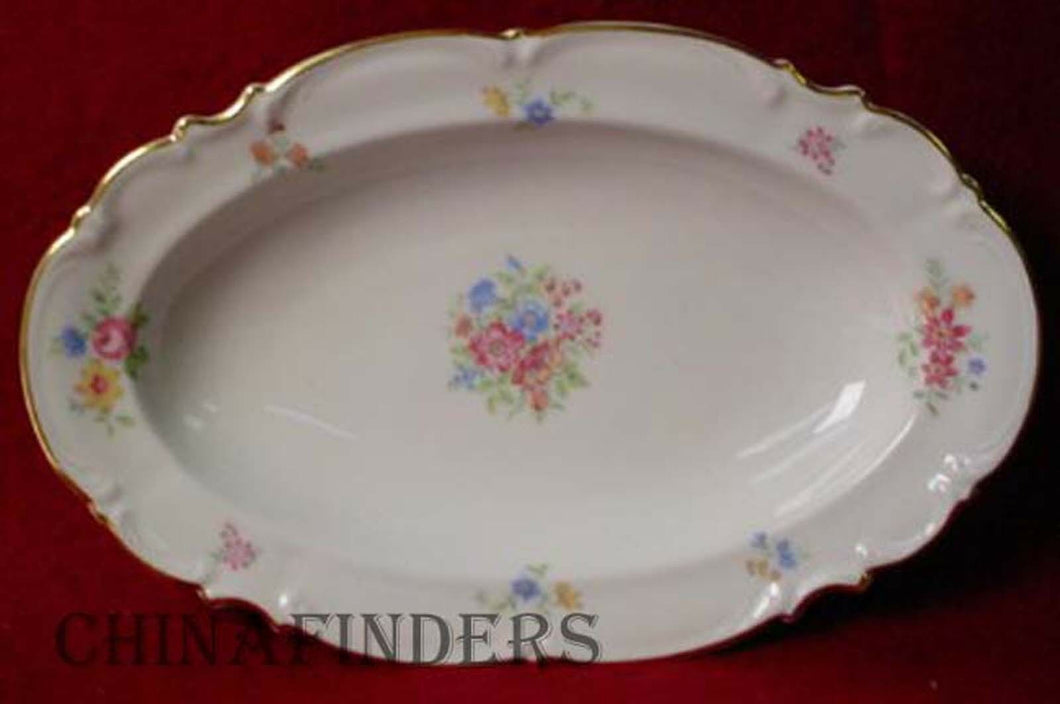 HUTSCHENREUTHER china 9039 pattern Relish Dish @ 10 1/4
