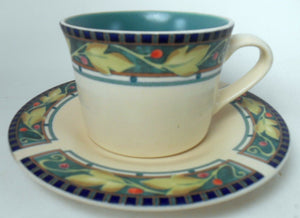 PFALTZGRAFF china FOREST pattern CUP and SAUCER Set