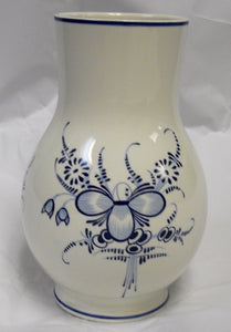 VILLEROY & BOCH china VIEUX SEPTFONTAINES pattern Vase @ 6 3/4""