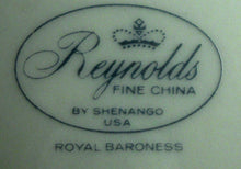 REYNOLDS china by Shenango ROYAL BARONESS Platinum Gravy Boat