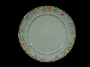 MIKASA china MORNING GLORY L6220 pattern Dinner Plate @ 10 3/4""