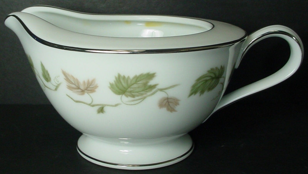 NORITAKE china VINEYARD 6449 pattern CREAMER cream pitcher JUG 2-5/8