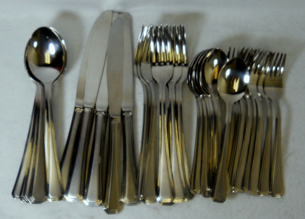 SEARS Roebuck stainless flatware 38-Piece Set Service for Eight (8)