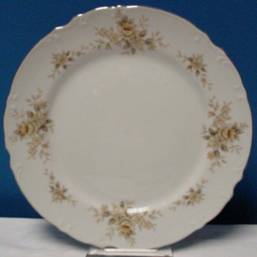MIKASA china NATALIE BROWN 9320 pattern Salad Plate @ 7 5/8