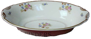 SYRACUSE china COVENTRY pattern Oval Vegetable Serving Bowl @ 10-3/8""
