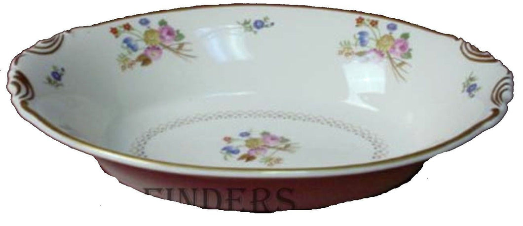 SYRACUSE china COVENTRY pattern Oval Vegetable Serving Bowl @ 10-3/8