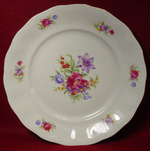 FAVOLINA china FLORAL BOUQUET fav7 pattern DINNER PLATE 10-3/8""