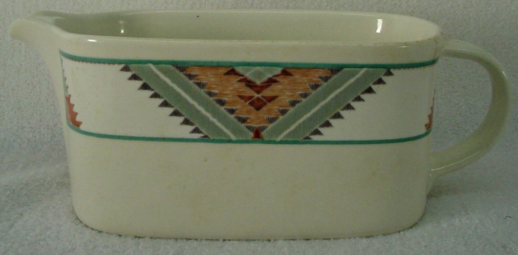 MIKASA china SANTA FE CAC24 pattern GRAVY BOAT no underplate/relish