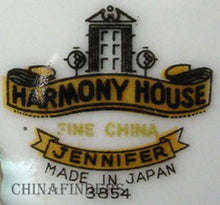 HARMONY HOUSE china JENNIFER 3854 pttrn CEREAL BOWL