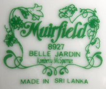MUIRFIELD china BELLE JARDIN pattern 8927 Two (2) Cup & Saucer Sets - 3-1/8""