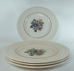 WEDGWOOD china PEMBROKE pattern SALAD plate Corinthian shape