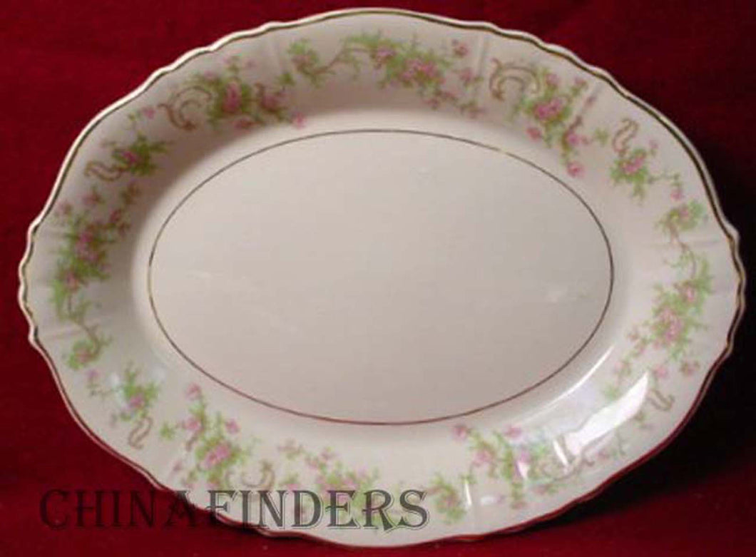 SYRACUSE china DEARBORN pattern SMALL OVAL PLATTER