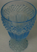 GORHAM crystal EMILY'S ATTIC BlueI ICED TEA/ALL PURPOSE Goblet or Glass 6-3/4""