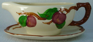 FRANCISCAN china APPLE England pattern Gravy Boat