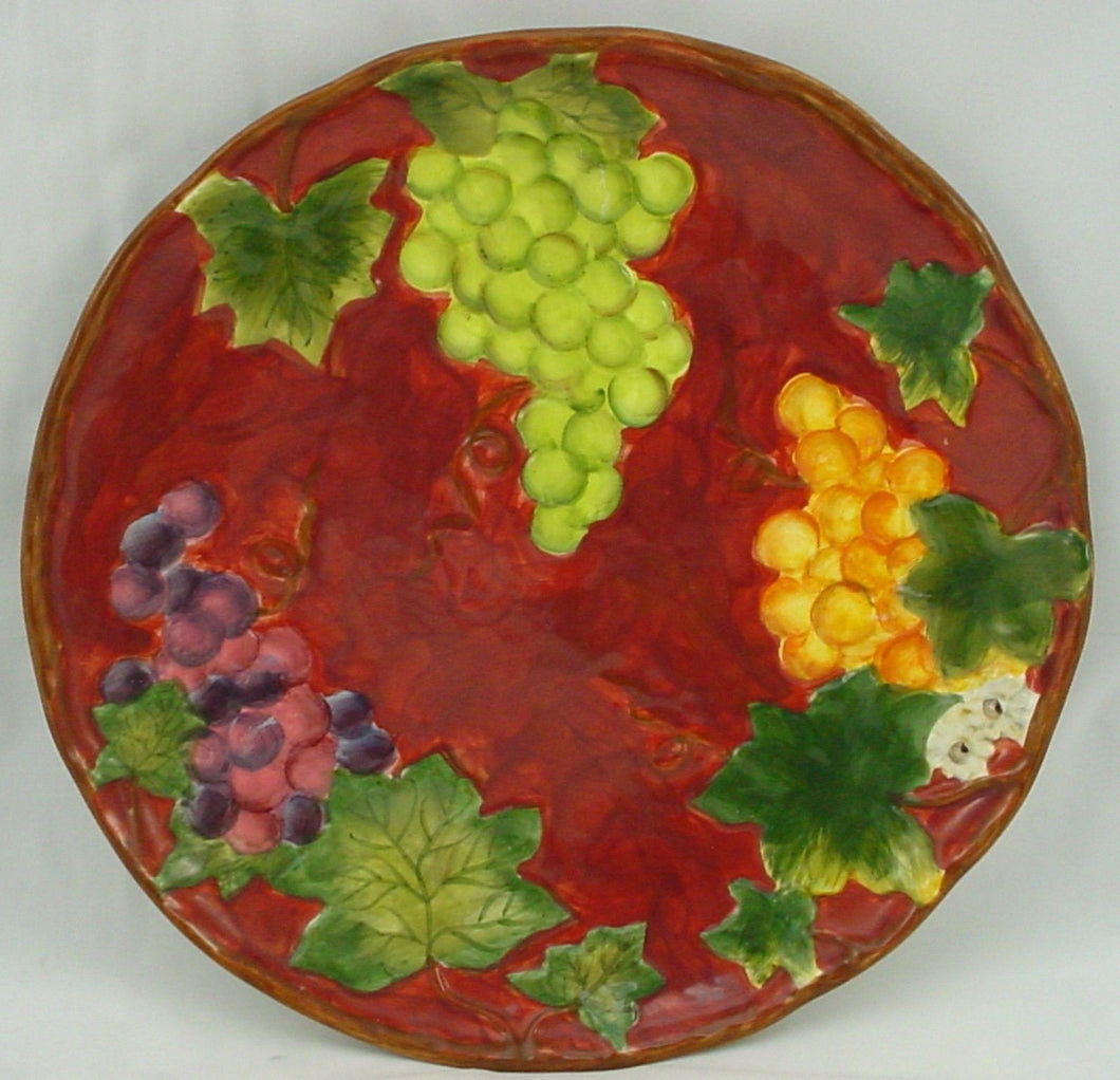 CERTIFIED INT CORP china VINEYARD pattern DINNER PLATE 10-3/4
