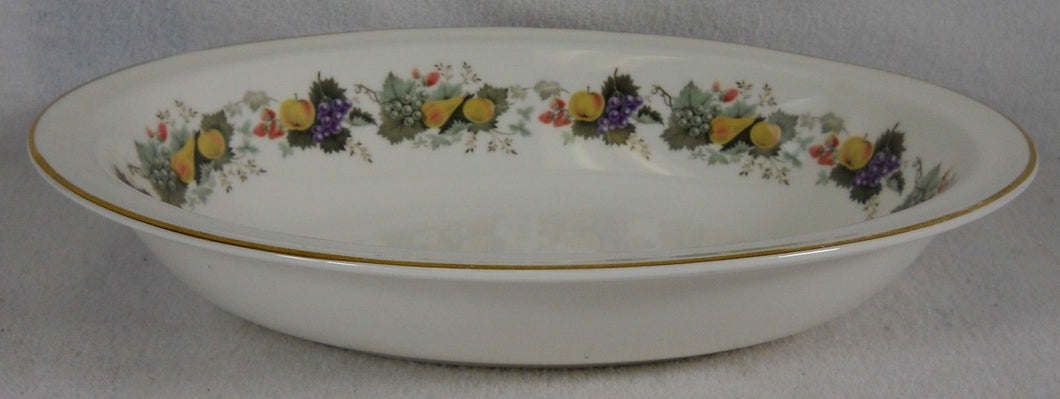 ROYAL DOULTON china RAVENNA pattern H4977 Oval Vegetable Serving Bowl @ 10-5/8