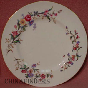 WEDGWOOD china DEVON SPRAYS W4076 pattern DESSERT PLATE 7""