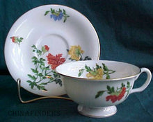CASTLETON china MA LIN pattern Cup & Saucer