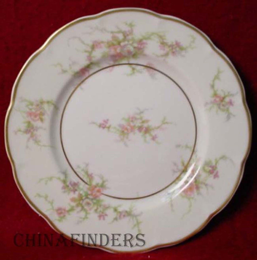 HAVILAND china ROSALINDE France BREAD PLATE 6-1/4