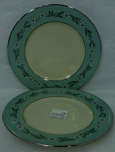 FRANCISCAN china DEL RIO pattern Set of Two (2) Bread Plates - 6-3/8""