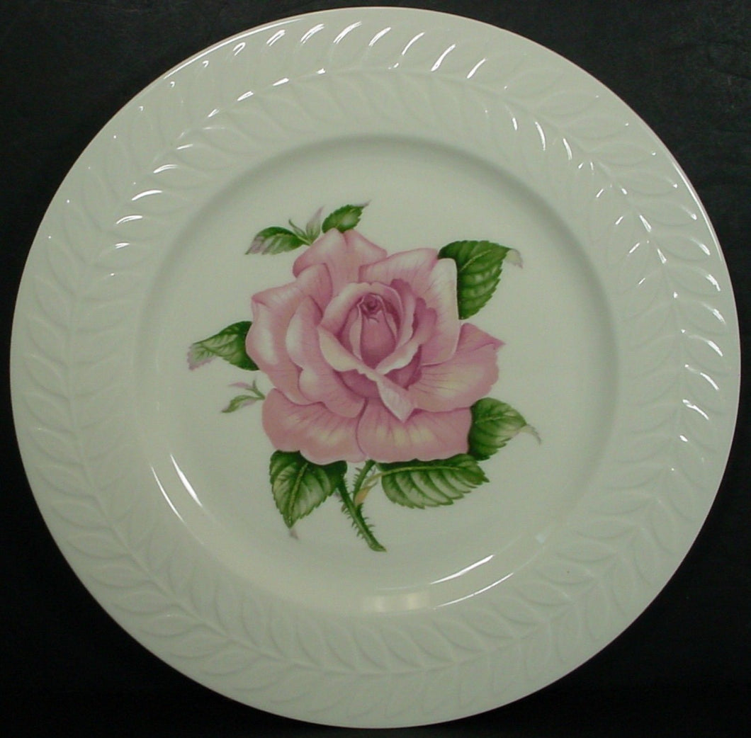 HAVILAND china REGENTS PARK ROSE pattern DINNER PLATE 10-3/4
