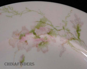 CHARLES FIELD HAVILAND china Sch #377 PINK POPPIES Oval Serving Platter 15-1/4""