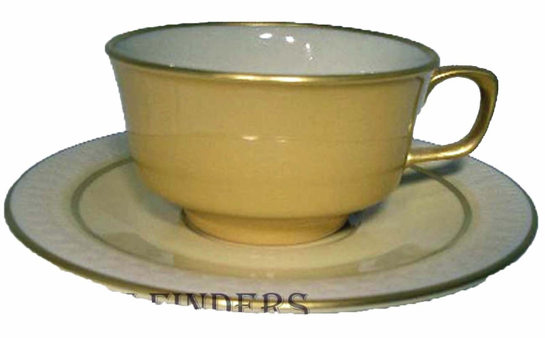 FRANCISCAN china MARTINIQUE pattern CUP & SAUCER set