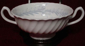MINTON china SYMPHONY - GRAY S557 Cream Soup Bowl Only