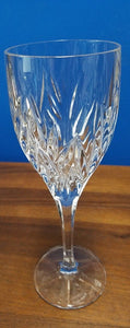 GORHAM crystal STAR BLOSSOM pattern Water Goblet or Glass - 8-5/8""