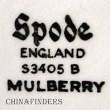 SPODE China MULBERRY S3405 Coffee Pot