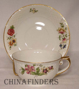 CROWN IMPERIAL china CASTLEVARY pattern 47 piece Set - dinner soup salad fruit