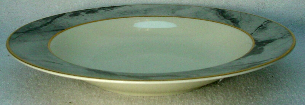 MIKASA china TRAVERTINE GRAY pattern Soup or Salad Bowl @ 8-5/8