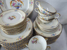 ALTROHLAU china CELLINI bird of paradise pattern 75-pc SET SERVICE