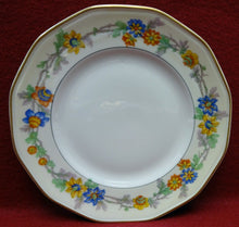 HAVILAND china MIAMI cream Salad or Dessert Plate - 7-1/2""