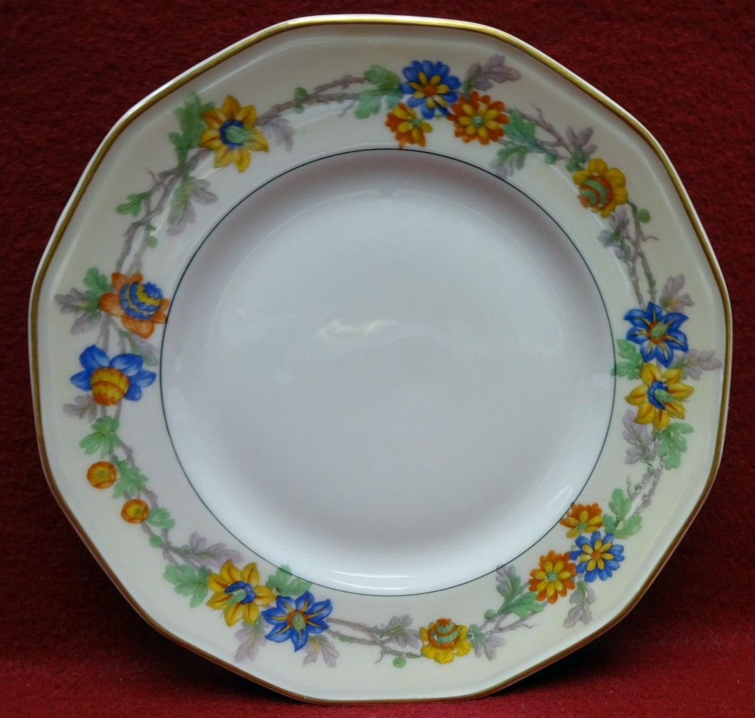 HAVILAND china MIAMI cream Salad or Dessert Plate - 7-1/2