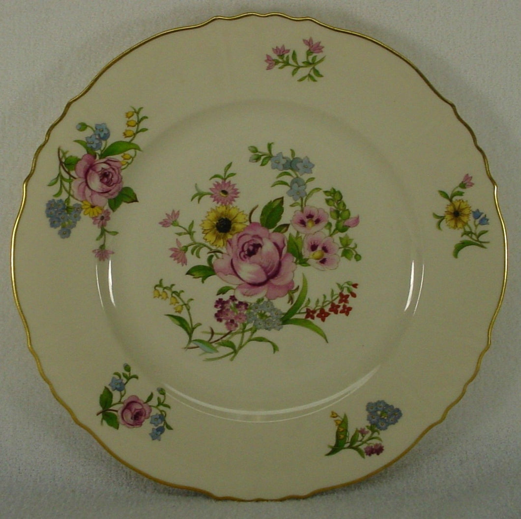 SYRACUSE china PORTLAND pattern DINNER PLATE - Set of Two (2) - 10