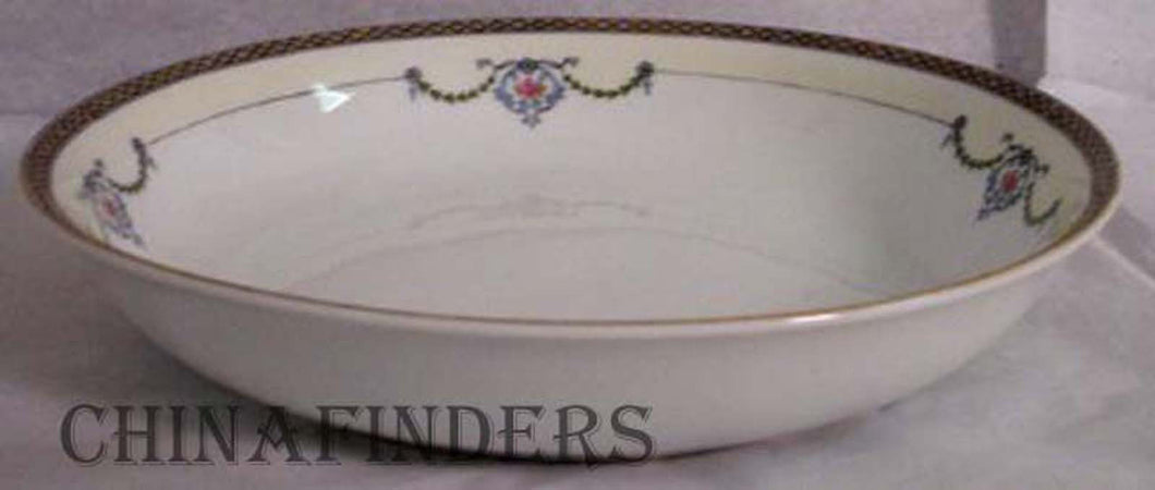NORITAKE china GLENEDEN pattern 71221 SOUP Bowl