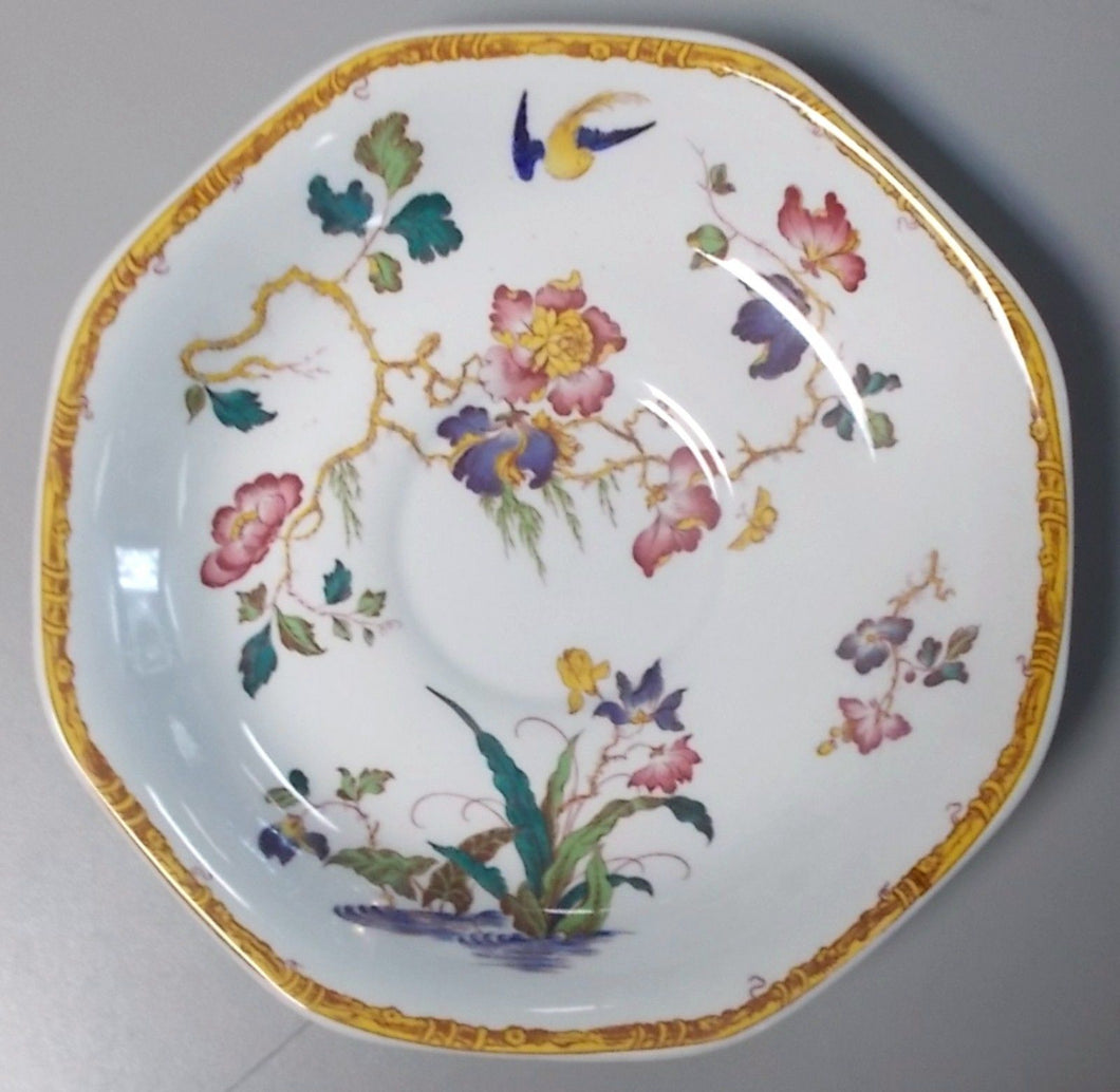 WEDGWOOD china DEVON ROSE pattern Saucer