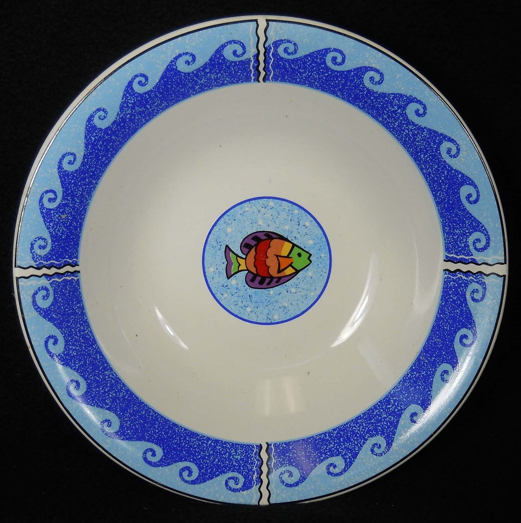 SANGO china PISCES pattern 4896 Soup or Dessert Bowl - 7-3/4
