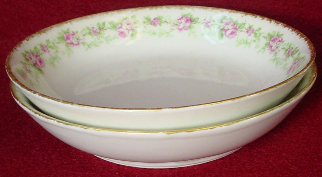 CHARLES FIELD HAVILAND china CHF1967 pattern FRUIT BERRY BOWL 5