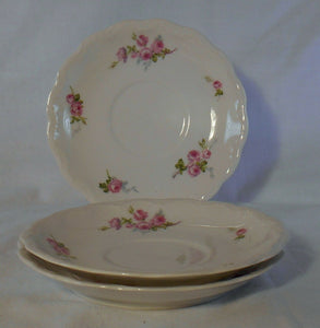 BORGFELDT, GEORGE china BOG52 pattern Set of Three (3) Saucers