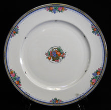 ROYAL BONE china FRUIT BASKET pattern DINNER Plate
