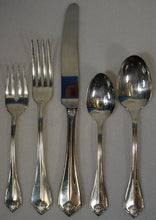 ONEIDA Silver KING JAMES 1985 silverplate 5-pc PLACE SETTING